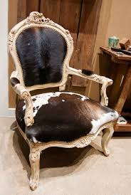 Cowhide Chair Cushions French Style Cow Hide Chair Home U0026 Ranch Pinterest French