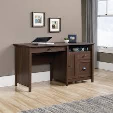 walnut corner computer desk amazon com sauder county line computer desk in rum walnut