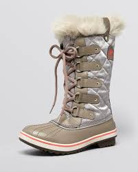sorel tofino womens boots size 9 lyst sorel cold weather lace up boots tofino organza in gray
