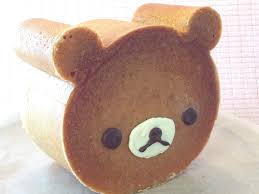 how to make cute rilakkuma bear cake youtube
