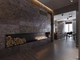 ultramodern fireplace minimalist pinterest modern fireplaces