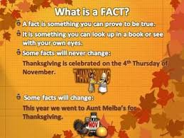 fact or opinion powerpoint lesson thanksgiving by teachers unleashed