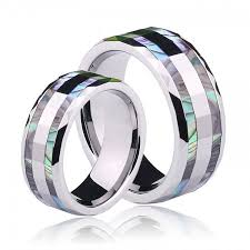 couple rings titanium images Love rings love knot rings love rings for couples jpg