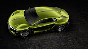 ds automobiles citroën announces ds e tense electric supercar