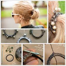 make loom band hair pins 247 best accessories to make images on pinterest bricolage