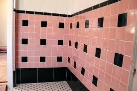 Pink Tile Bathroom Decorating Ideas Pink Tile Bathroom Ideas Pink Tile Laundry Room Renovation Pink