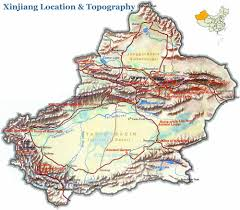 Detailed Map Of China by Xinjiang Maps 2017 Updated Detailed And Downloadable