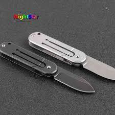 aliexpress com buy statgear pocket samurai titanium keychain