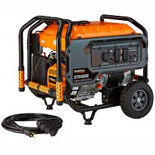 shop generac xt 8000 running watt portable generator with engine