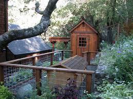 dog fence ideas landscape traditional with animal enclosure arbor