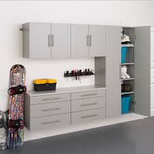Office Wall Organization System by Prepac Stone Grey Storage 5 Piece Cabinet Set H Stone Grey
