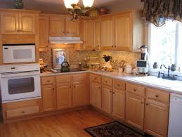 backsplash light wood cabinets kitchen light kitchen cabinets