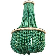 How To Make A Beaded Chandelier Home Office Makeover With Diy Wood Bead Chandelier Remodelaholic