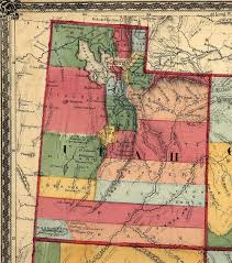 Map Of Northern Utah by Utah Maps Utah Digital Map Library Table Of Contents United