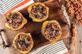 quinoa thanksgiving stuffing thanksgiving recipe quinoa stuffed acorn squash the little foxes