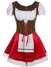 Bavarian Halloween Costumes Amazon Alivila Fashion Womens Oktoberfest Beer Germany