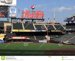 Citi Field Seating Map Citi Field Pepsi Porch Editorial Photo Image 10372811