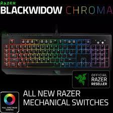 razer blackwidow chroma lights not working qoo10 chroma blackwidow computer game