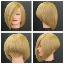 short hairstyles as seen from behind stacked bob haircut tutorial youtube