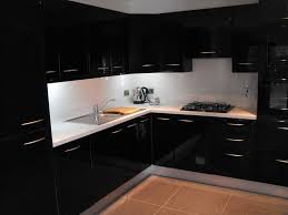 black gloss kitchen ideas high gloss black kitchen conbudesign kitchens