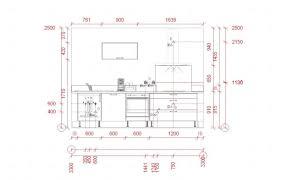 taille plan de travail cuisine hauteur plan de travail cuisine standard
