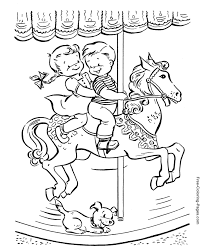 free horse coloring pages 008