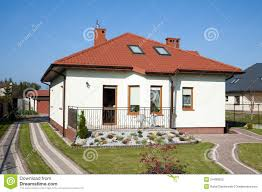 family small house in white color stock photos image 24498053
