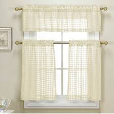 Kitchen Curtains Sets Sheer Kitchen Curtains Kitchen Ideas