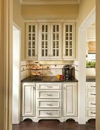 Kitchen Cabinet Glass Door Oak Kitchen Cabinets With Glass Doors Medium Oak Built In With