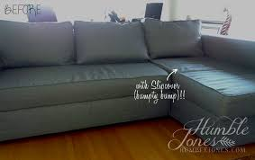Ikea Manstad Sofa by A New Look For A Trusty Little Sofa Humble Jones