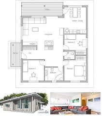 open modern floor plans small house plan high ceilings three bedrooms open planning