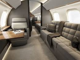 Long Range Jet Jet Charter St Andrews Bombardier Global 8000 Cabin Bestofyachting Private Jets