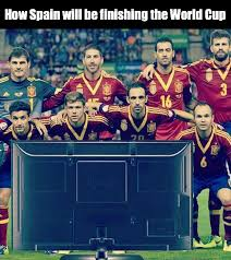 World Cup Memes - how spain will be watching the world cup weknowmemes