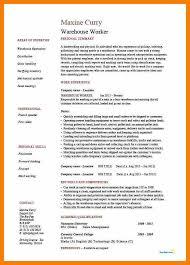 Example Warehouse Resume Sample Hostess Resume Top 8 Head Hostess Resume Samples Room