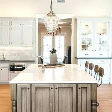 clear glass pendant lighting kitchen brown kitchen island and