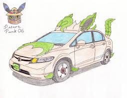 Honda Civic Memes - honda civic hybrid leafeon edition pokémon know your meme