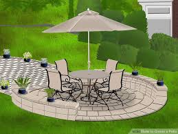 Done Deal Patio Slabs How To Create A Patio With Pictures Wikihow