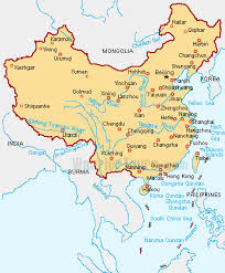 rivers in china map maps of china cities rivers and countries