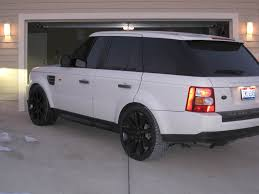 matte black range rover does anyone have pics of the 22