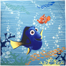Disney Shower Curtains by Disney Finding Dory Shower Curtain Walmart Com
