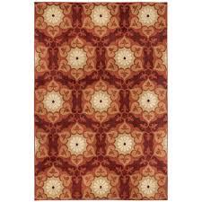 area rugs home decorators home decorators collection amelia medallion multi 7 ft 10 in x 10