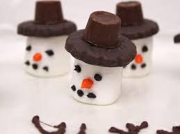 snowman marshmallows cupcake recipe