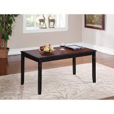 linon home decor linon home decor camden black cherry built in storage coffee table