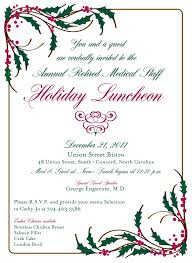 christmas brunch invitations photo free bridal luncheon invitations image