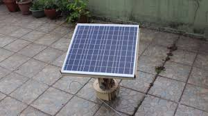 dual axis solar tracker diy arduino time lapse