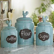 Blue Kitchen Canister Sets Kitchen Canisters Designs For Modern Living Buungi Com