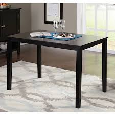 walmart dining room sets contemporary dining table black walmart com