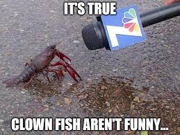 Funny Clown Memes - crawfish interview imgflip