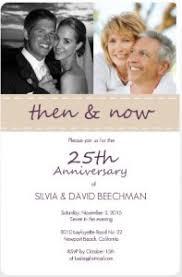 25th wedding anniversary invitations 25th anniversary invitations the silver celebration