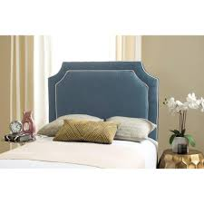 Blue Twin Bed by Safavieh Jeneve Sky Blue Twin Winged Headboard Mcr4030f The Home